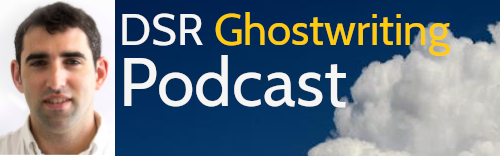 Logo for DSR Ghostwriting Podcast